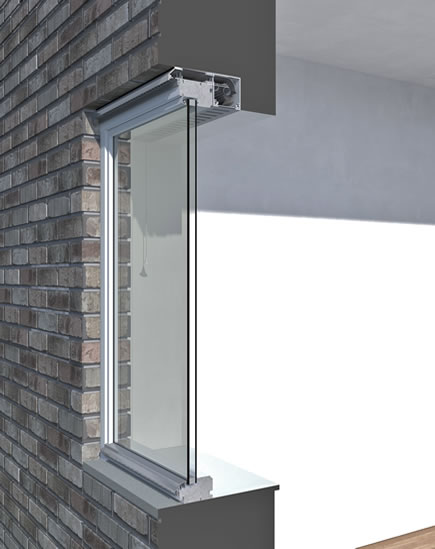 Trickle Vent fitted above window